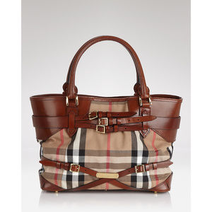 Burberry Bridle Check tote bag